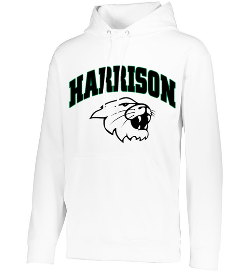 Harrison YOUTH White Drifit Hoodie