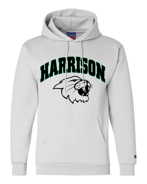 Harrison Champion White Fleece Hoodie