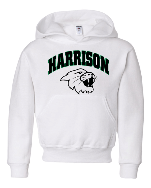 Harrison YOUTH White Fleece Hoodie