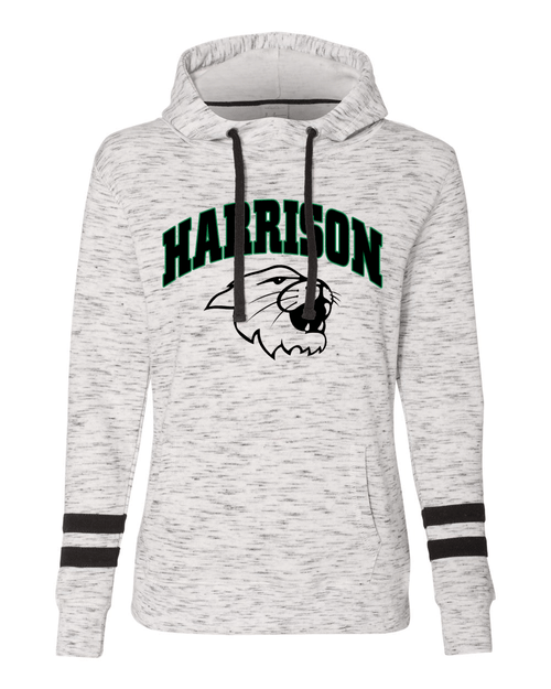 Harrison Ladies Scuba White Hoodie