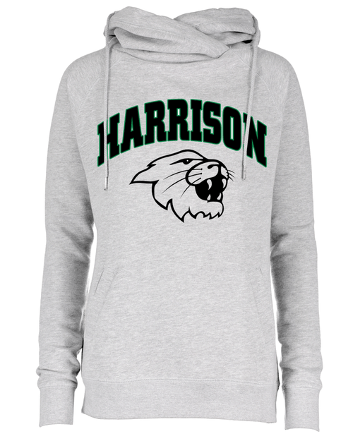 Harrison Ladies Funnel Neck Hoodie