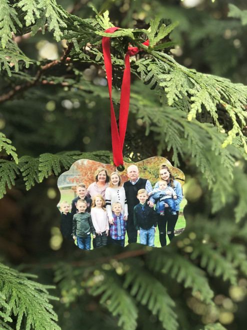 Personalized Photo Ornament 2-Sided