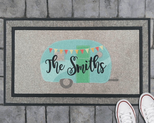 Family Camper Doormat- Personalized!