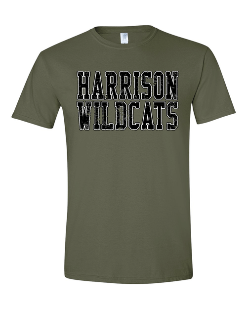 SALE Harrison Unisex Army Green Tee