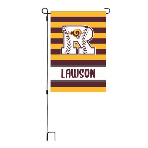 Fundraising RBC Personalized Garden Flag