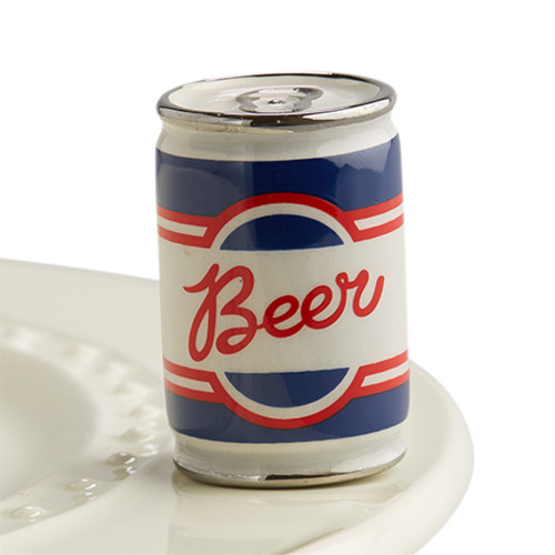 Nora Fleming Mini Beer me! Beer Can A199