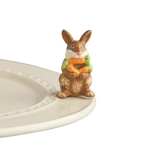 Nora Fleming Mini Funny bunny A226