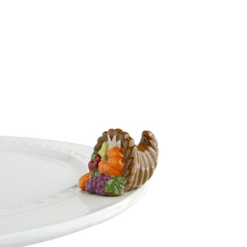 Nora Fleming Mini Autumn's bounty Cornacopia A162