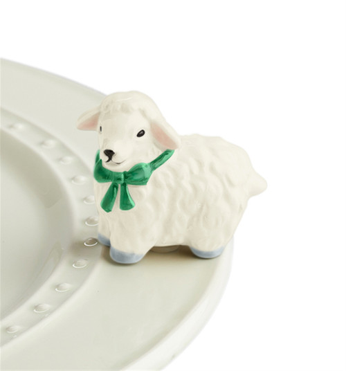 Nora Fleming Mini I love ewe! Lamb A195