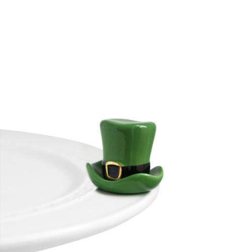 Nora Fleming Mini Spot o' irish St. Patty Hat A87