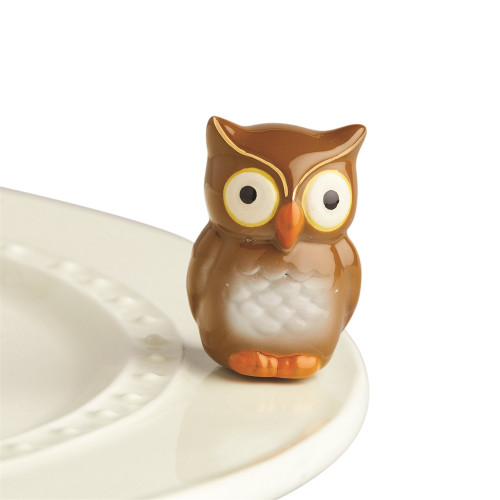 Nora Fleming Mini Be whoo you are Owl A235