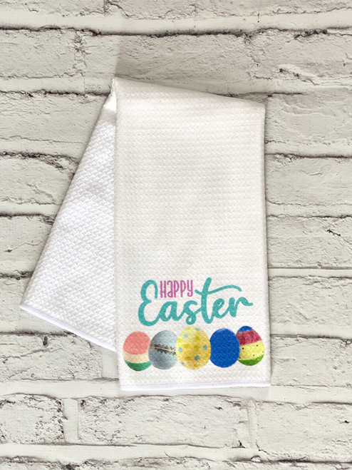 Nora Fleming Inspired Easter Kitchen Towel