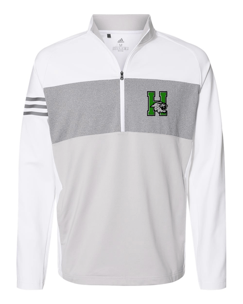 Harrison Adidas 3-Stripes  Quarter Zip Pullover 2020
