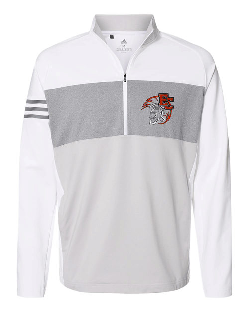 East Central Adidas 3-Stripes  Quarter Zip Pullover 2020