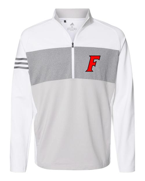 Fairfield Adidas 3-Stripes  Quarter Zip Pullover 2020