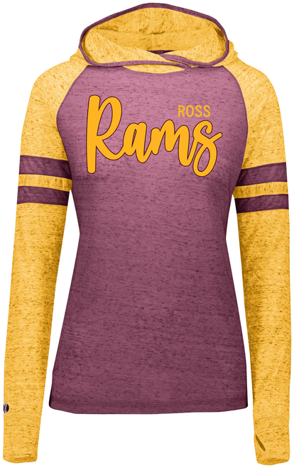 Ross Ladies Hooded Tee