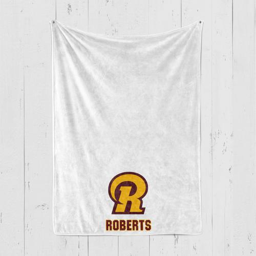 Ross Blanket R Logo Personalized Blanket