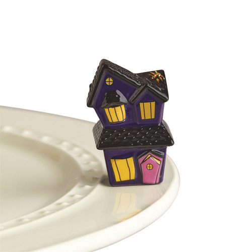 Nora Fleming Mini Spooky Spaces (Haunted House) A253