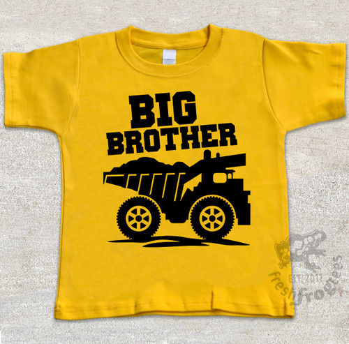 Big Brother Shirt - Dump Truck