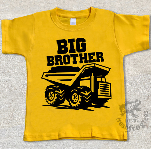 Dump Truck BIG BROTHER tshirt