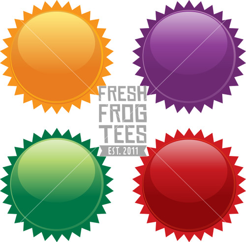 Colorful vector gloss circle icon images