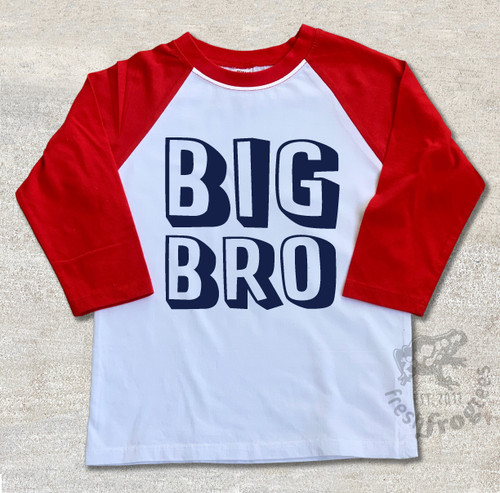 big bro white red sleeves