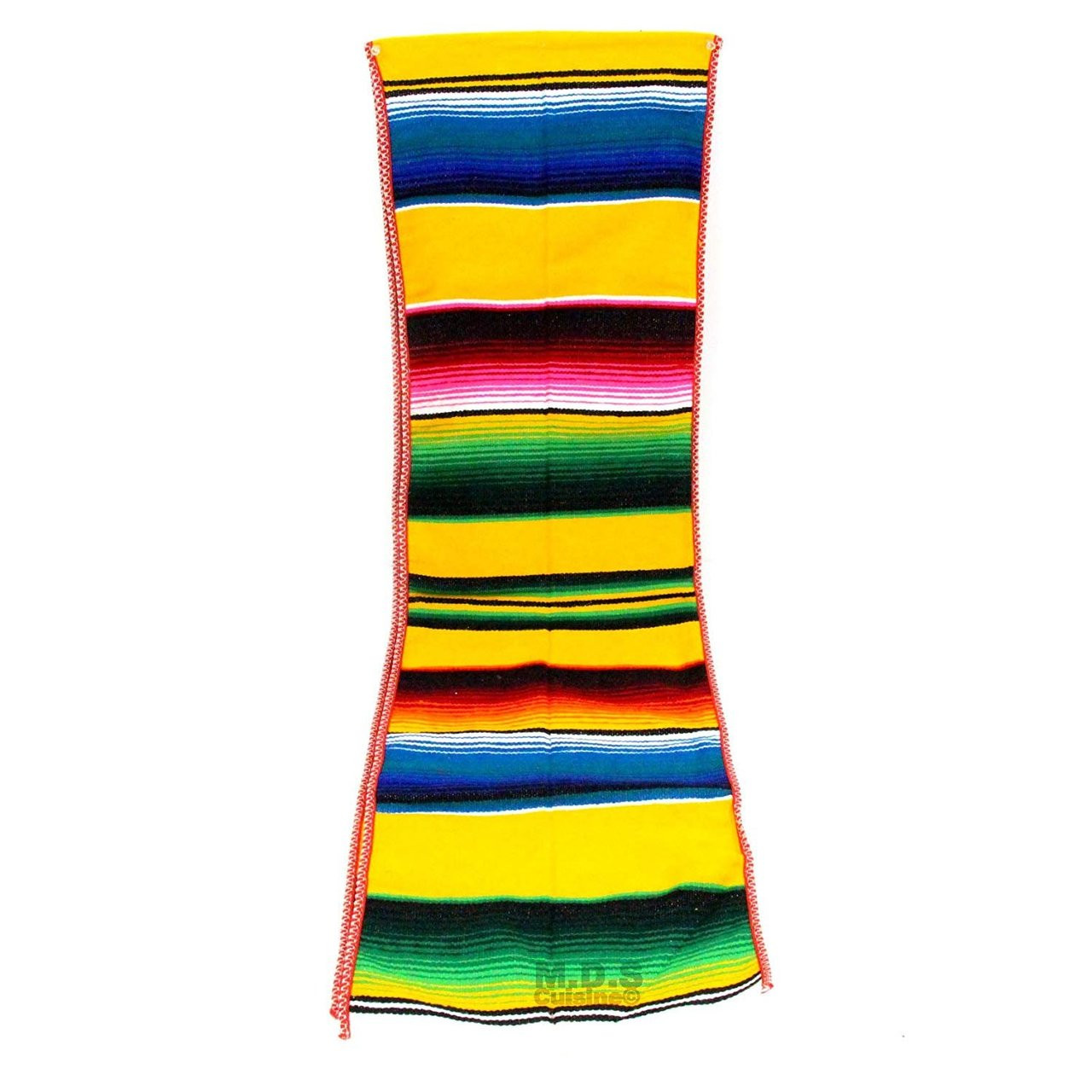 Astonishing Ematik Serape Traditional Vibrant Colorful 100 Mexican Table Runner Zarape Throw Blanket Table Linen From Saltillo Coahuila Fiesta Bumble Bee Download Free Architecture Designs Intelgarnamadebymaigaardcom
