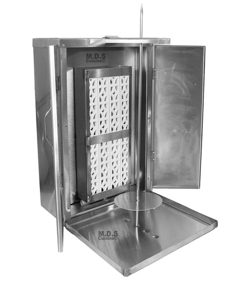 Tacos Al Pastor Authentic Mexico Machine Heavy Duty Commercial Stainless Steel Trompo