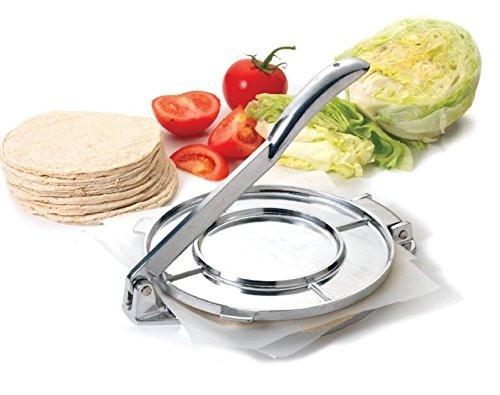 """Tortilla Press Heavy Cast Aluminum 7.5"""" Inch Authentic Tortilla Press Maker"""