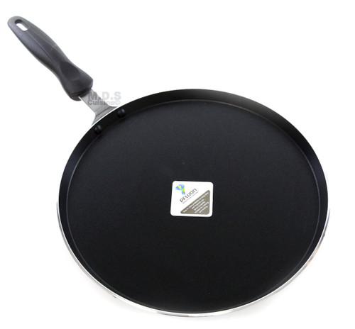 """Ematik Comal 12"""" Aluminum Non-Stick Round Griddle Pan Sarten Griddle"""