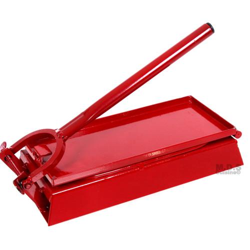 "Huarache Press 10.5"" RED Huarachera Maker Tortilla Press Heavy Duty Authentic"