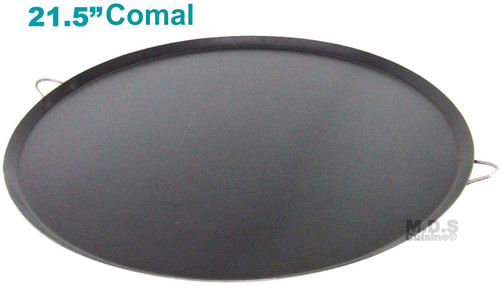 "Comal 21.5"" 100% Heavy Duty Gauge Carbon Steel para Tortillas Quesadillas"