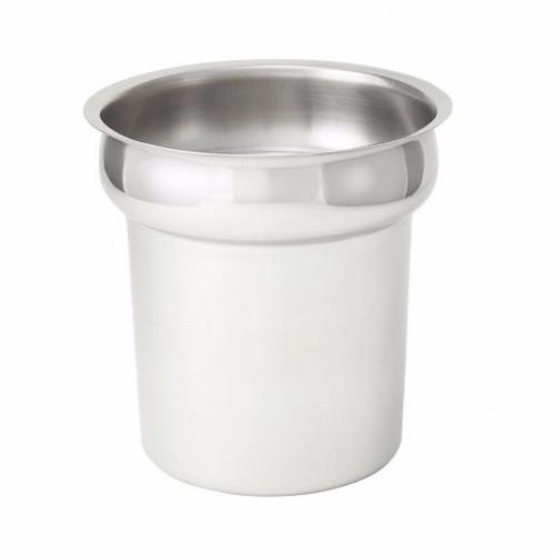 Inset Vegatble Pot 4 Qt. Stainless Steel