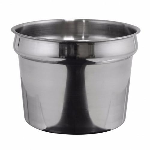 Inset Vegatble Pot 11 Qt. Stainless Steel