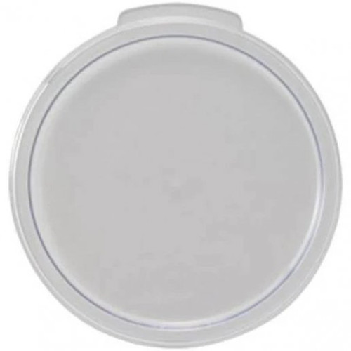 Lid Cover Clear Round for 2,4 Qt Containers