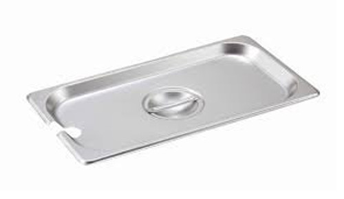 Tray Cover Lid for 1/3  Steam Table Pan Stainless Steel