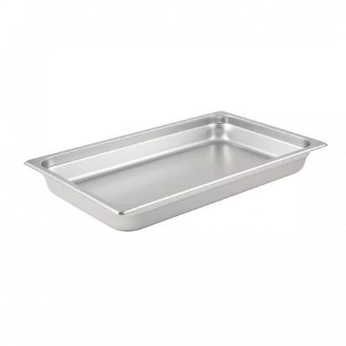 """Tray Food Full Pan 1/1 Stainless Steel Tray 2.5"""" Deep"""