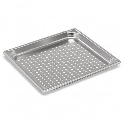 """Tray Food Full Preferated Pan 1/1 Stainless Steel Tray 2.5"""" Deep"""
