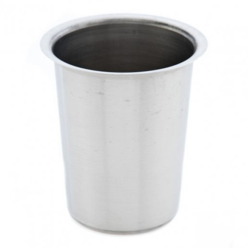 """Flatware Cylinder Silver Stainless Steel 5"""""""