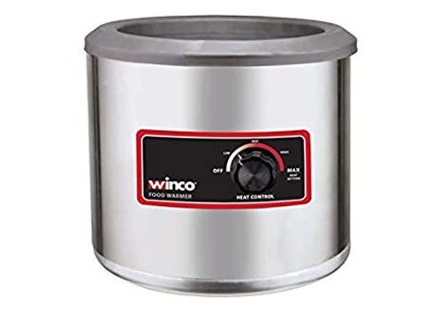 Food Warmer 7 Quart Electric Round Commercial Buffet Portable Steam Food Cooker