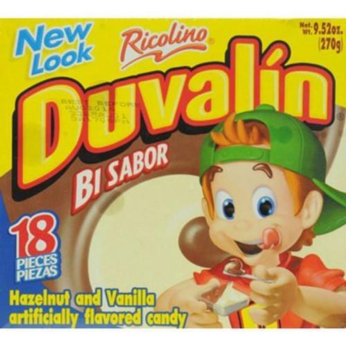 Duvalin Avellana Vanilla Hazlenut Mexican Candy Dulce