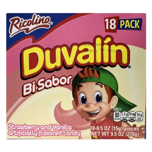 Duvalin Strawberry Vanilla Fresca Mexican Candy Dulce
