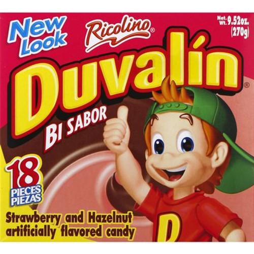 Duvalin Avellana Strawberry Hazlenut Mexican Candy Dulce