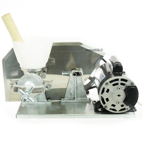 Electric Mill 1.5 Hp Double Belt Corn Grain Wheat Grinder Heavy Duty Commercial Molino Maiz