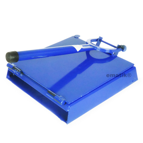 "Tortilla Press 12"" Blue Heavy Duty Iron Restaurant Commercial Authentic Mexican Tortillas …"