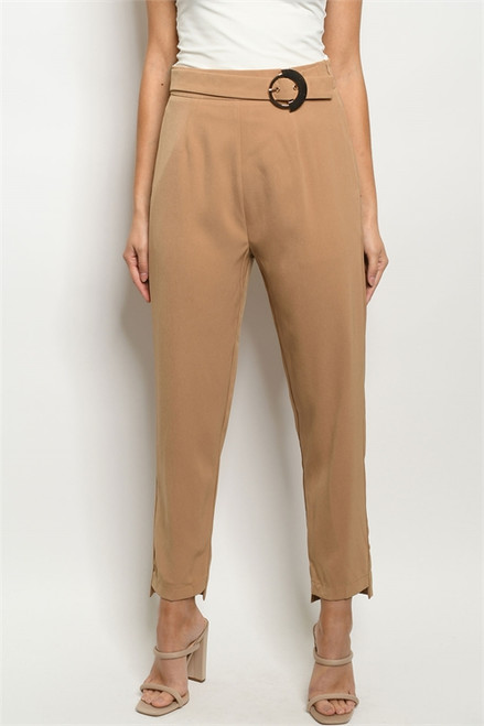 Disruption Pant in Tan