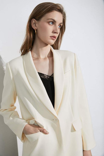 Consensus Blazer in Ivory