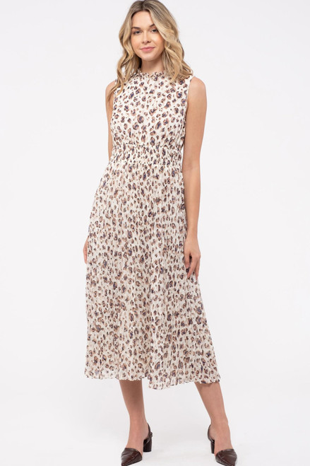 Retrospect Leopard Print Dress