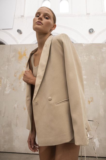 Perspective Blazer in Beige