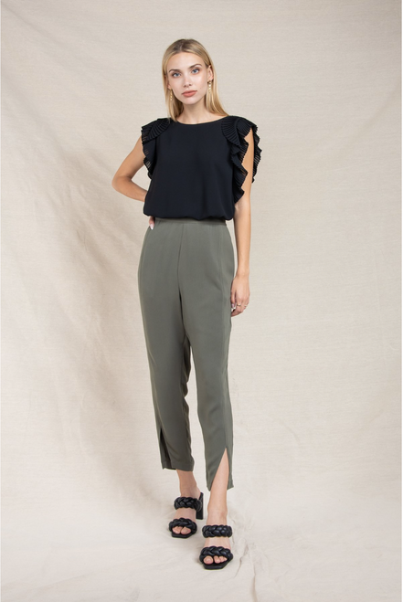 Drill Down Pants in Olive
